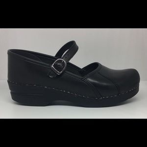 DANSKO MARCELLE MARY JANE CABRIO CLOGS SHOES 8.5-9